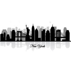 PLAFON LED CUAD. IMPRESION NEW YORK 18W 4200k